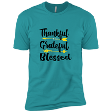 Load image into Gallery viewer, Thankful Grateful Blessed T-Shirt