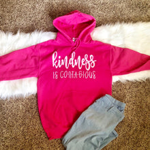 Load image into Gallery viewer, Kindness Is Contagious Hoodie
