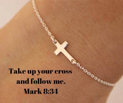 Charm Cross Chain Bracelet