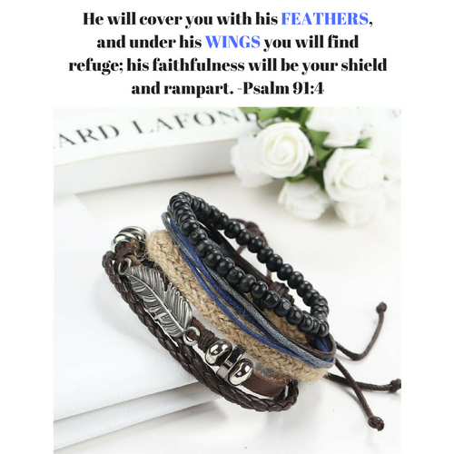 Faith Wings Bracelets