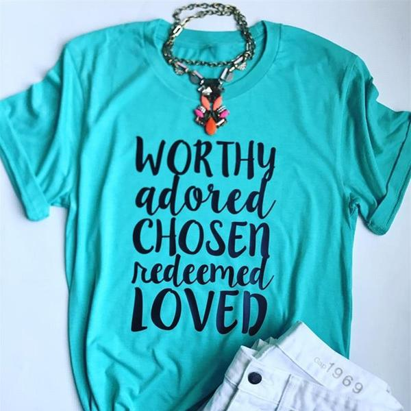 Worthy Christian T-Shirt