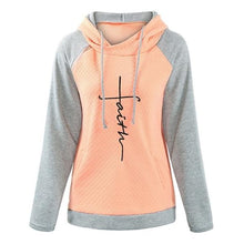 Load image into Gallery viewer, Faith Hoodie Two-Tone