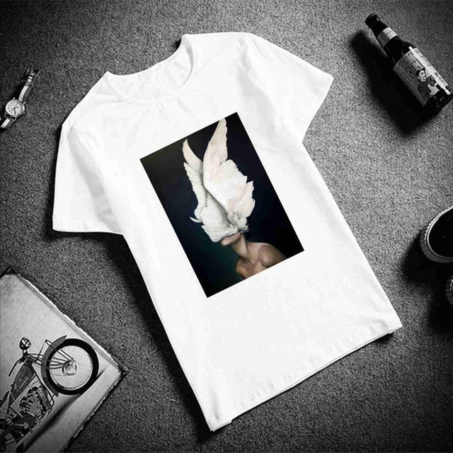 Artistic Surreal Wings T-Shirt