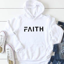 Load image into Gallery viewer, Faith Letter Print Women Hoodies