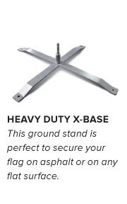 Flag Accessories - Heavy Duty Base