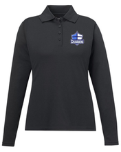 Load image into Gallery viewer, Cumberland Christian - Ladies Long Sleeve Polo