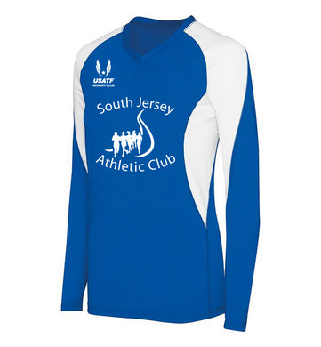 SJAC - Ladies Long Sleeve Court Jersey