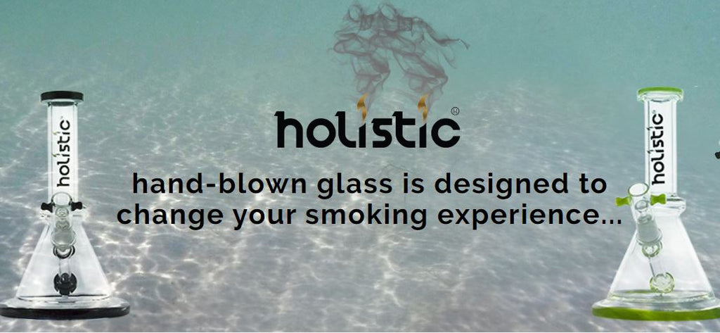 Holistic Glass's hand-blown glass is designed to change your smoking experience ...