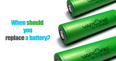 When should you replace a battery? v&T