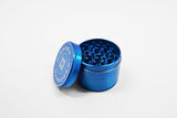 "vaporsandthings.com:2.2"" Highper Shredder Zinc Alloy Grinder, 4 part, Blue"