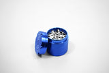 vaporsandthings.com:1.5 inch Highper Shredder Aluminum 4 part Grinder BLUE