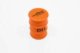 vaporsandthings.com:Vapors & Things 1.6in Orange Oil Drum Silicone Container