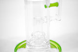 vaporsandthings.com:12.4″ Slyme Bubbler w. Fixed Dual Double Showerheads