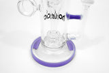 vaporsandthings.com:8.5″ Whisteria Bubbler w. Barrel Perc & Finger Hole