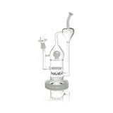 "vaporsandthings.com:12.2"" Holistic Recycler with Inline Perc. Bent mouthpiece. Recycler Arm. White"