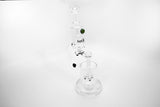 vaporsandthings.com:Holistic Microscope 5 Perc Waterpipe. Heady Glass. Clear.