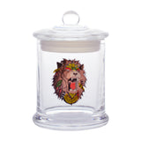 vaporsandthings.com:Lionhead Graphic Glass Jar