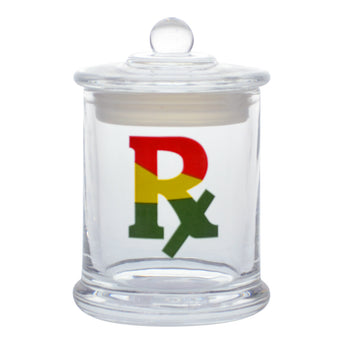 vaporsandthings.com:Rasta RX Graphic Glass Jar