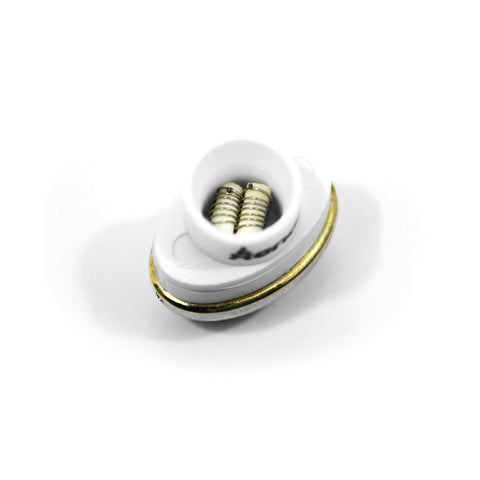 vaporsandthings.com:Xenon X10 White Base Dual Rod Coil For Extracts
