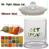 vaporsandthings.com:Get Stoned Graphic Glass Jar