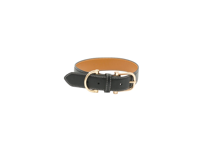 CITY LEATHER COLLAR - MORE COLORS AVAILABLE