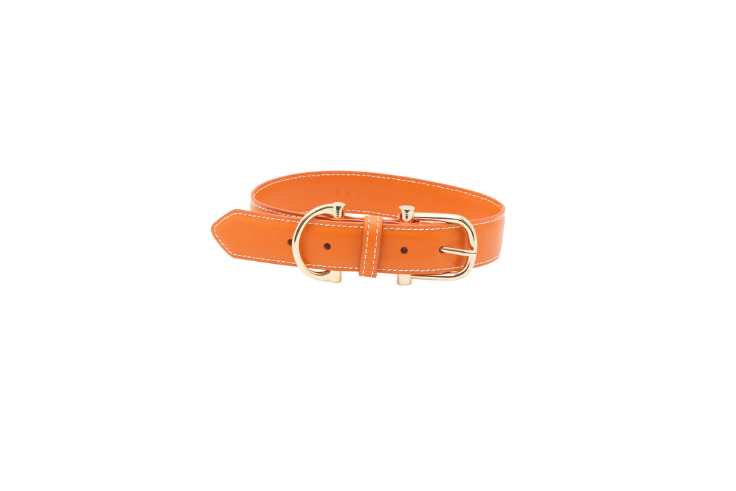 TOWN LEATHER COLLAR - MORE COLORS AVAILABLE