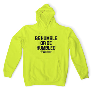 "God Over Money ""Be Humble"" Hoodie (Neon Yellow)"