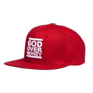 GOM Classic Snapback, Red/White