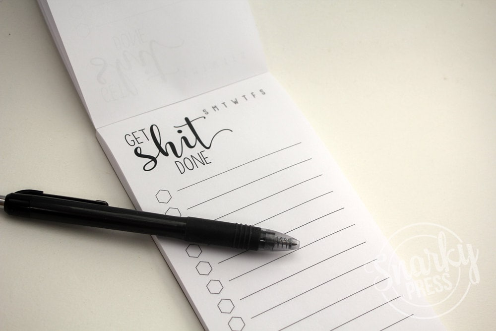 Get Shit Done Notepad - to do list