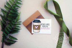 Coffee Card for Your coffee loving friend