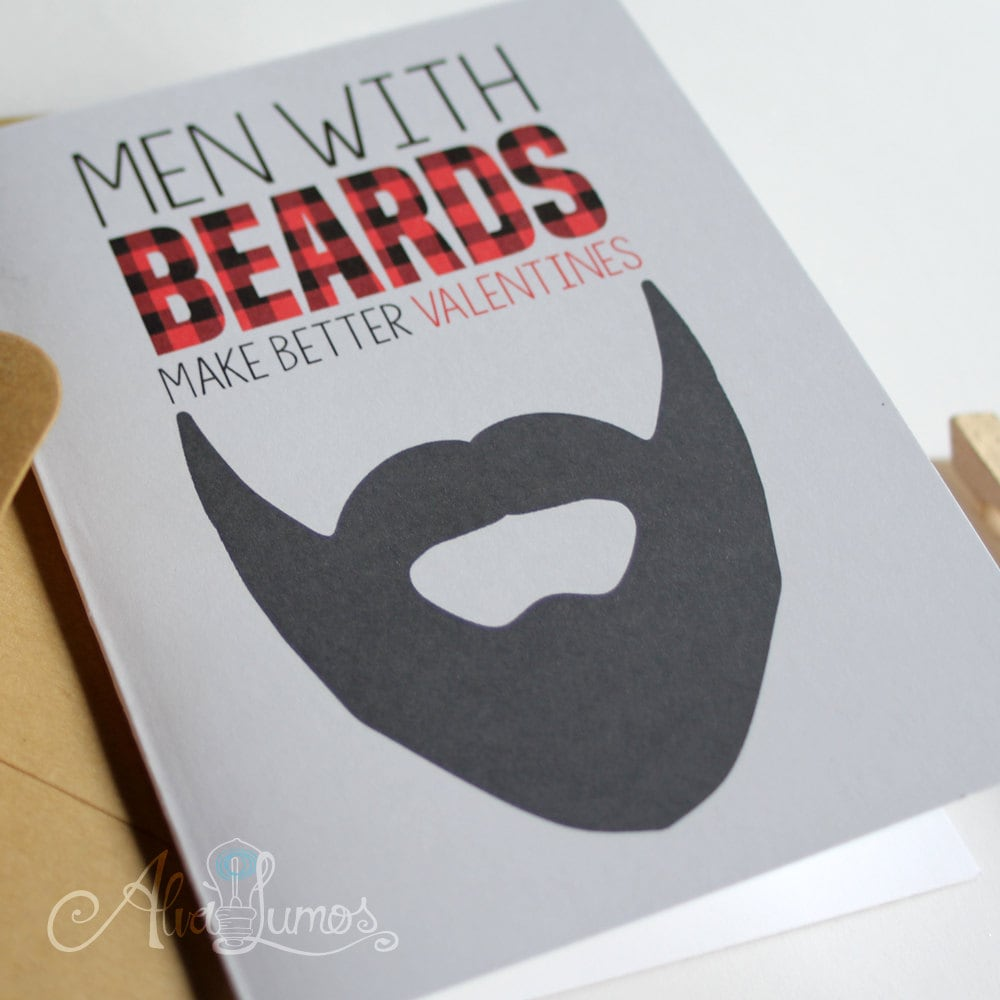 Men with beards make better Valentines