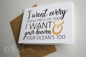 Romantic Anniversary Card