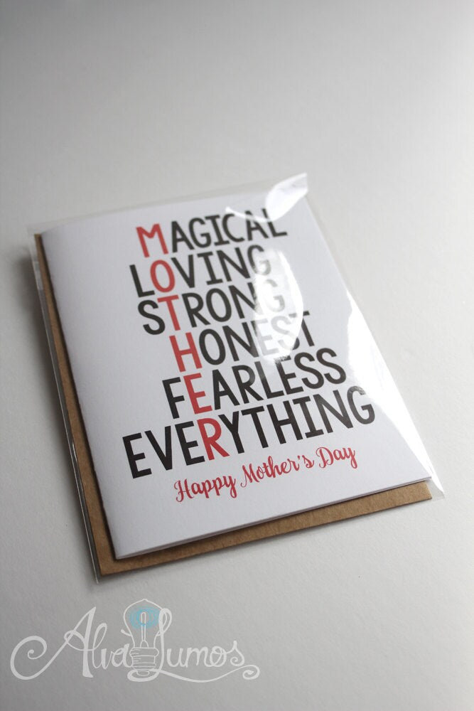 Sweet Mother's Day Card