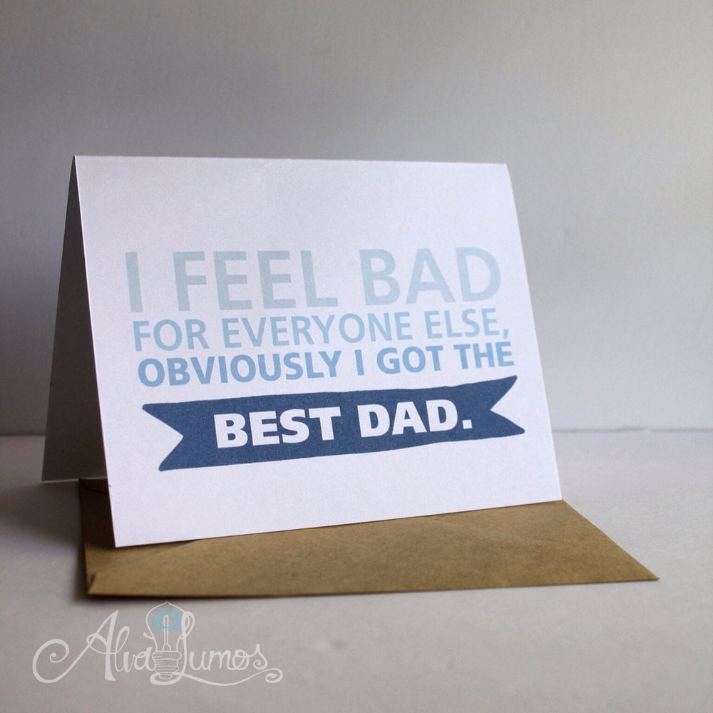 Best dad! Father's Day Card