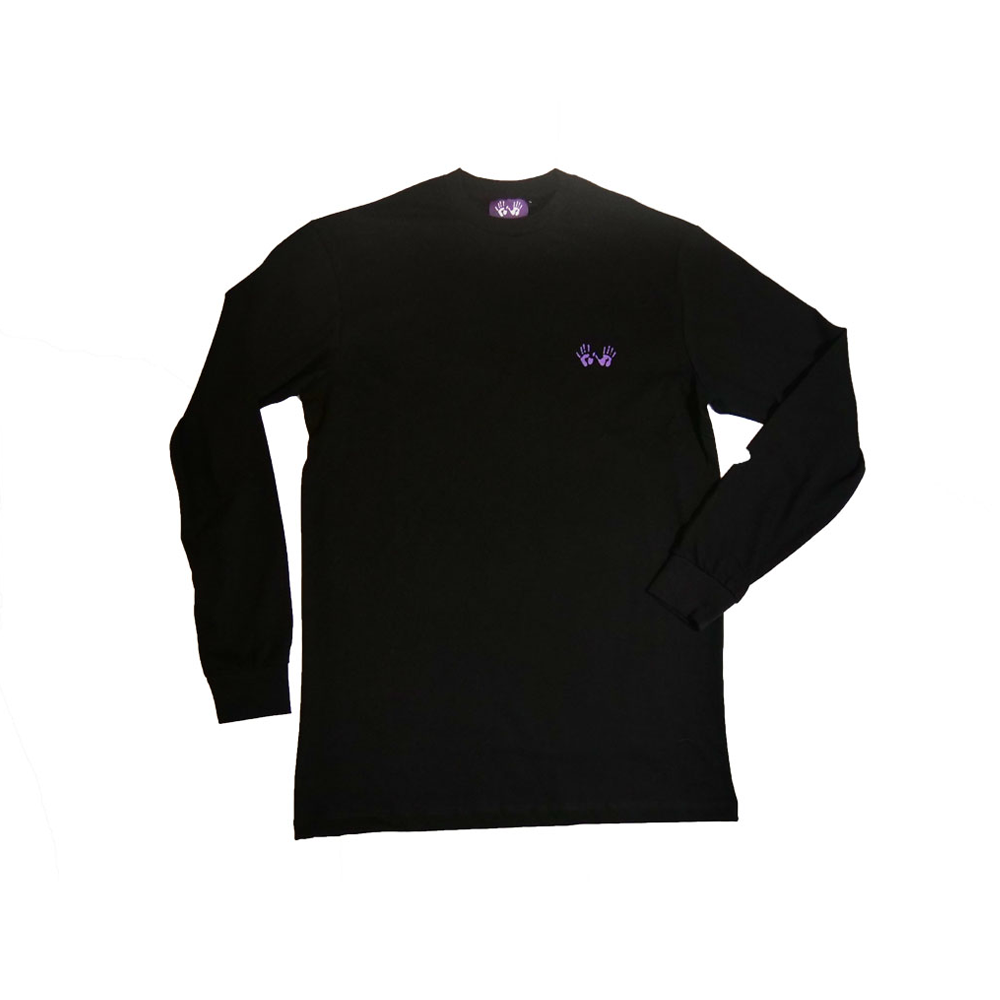 Logo Long Sleeve Tee - Black
