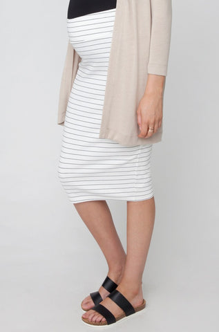 Lizzy Ponte Skirt - Cozy Bump Pregnancy Pillow