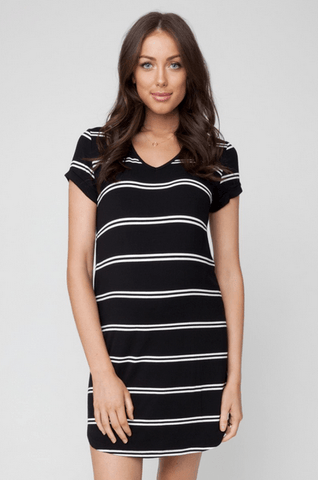 Relaxed T Shirt Dress - Cozy Bump Pregnancy Pillow