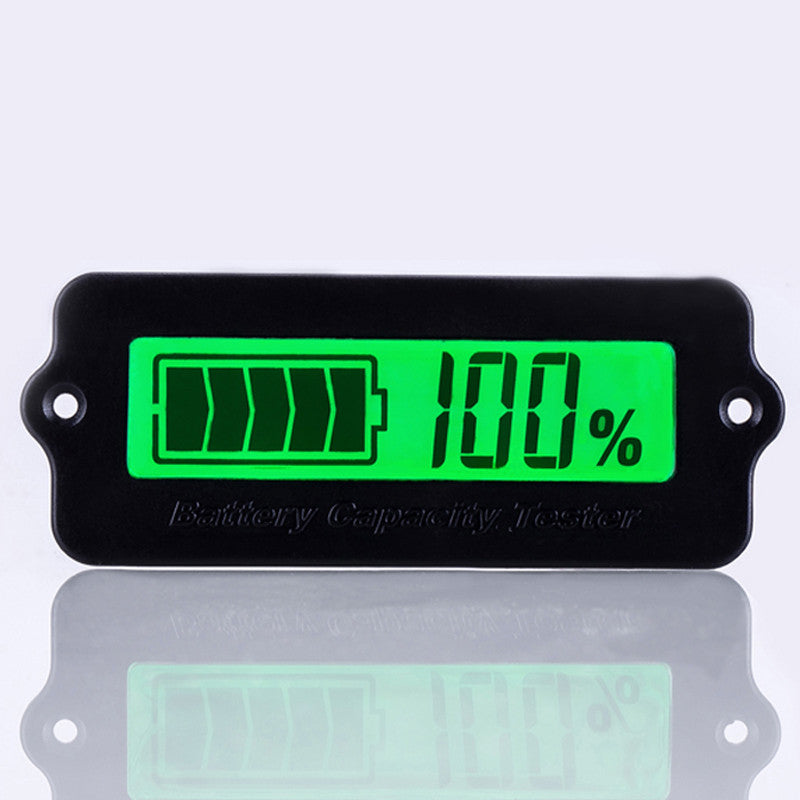 12V 24V 36V 48V Battery Status Percentage Monitor Meter Caravan Panel Mount - Sales67