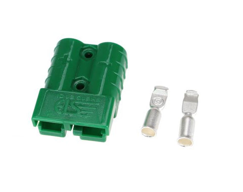Single Green 50 Amp Anderson Style Plug - Sales67