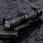 CREE Q3 LED Zoomable Focus Bright Flashlight Torch Light 1 x AA/14500 - Sales67