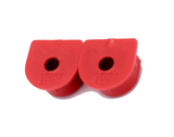 2 x Waterproof Anderson Plug dust cable seal inserts RED Anderson plug caps - Sales67