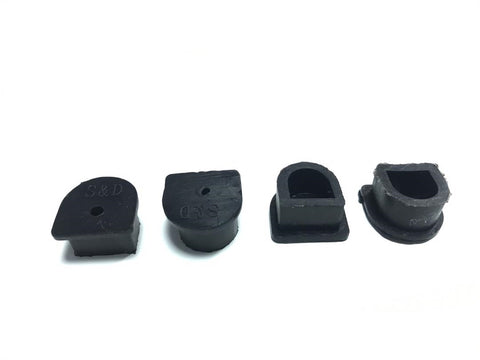 4 x Waterproof Anderson Plug dust cable seal inserts BLACK Anderson plug caps - Sales67