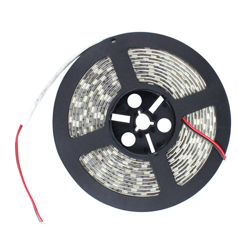 LED Strip Warm White Waterproof IP65 SMD 5050 12V 5m Roll Flexible lights 6500K - Sales67