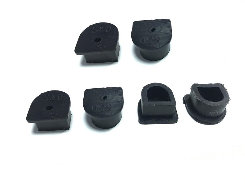 6 x Waterproof Anderson Plug dust cable seal inserts BLACK Anderson plug caps - Sales67
