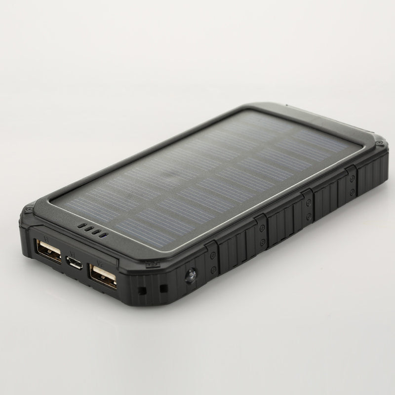 Power Bank 5000mAh Portable Solar Mobile Phone Battery Charger Pack Dual USB with LED - Sales67