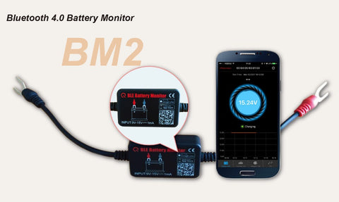12V Battery Monitor 11 bluetooth 4.0 Voltage Meter Caravan Boat Vehicle Auto Alarm - Sales67