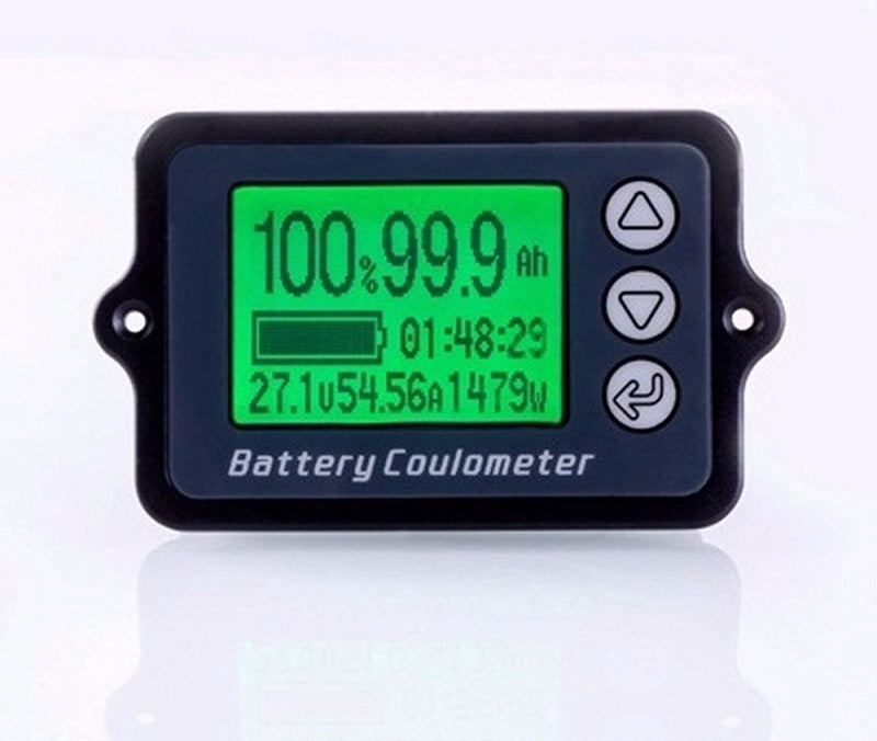 Coulomb Meter DC 8-100V 350A Battery Capacity Indicator AGM Lithium LiPo, LiFePO battery