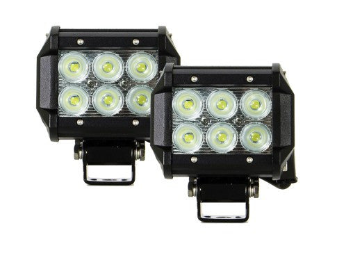 2x 4inch 30W Cree LED Light Bar Flood Work Driving Offroad Lamp Save On 42W - Sales67