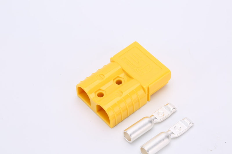 120 AMP Yellow Anderson Style Plug Single S&D