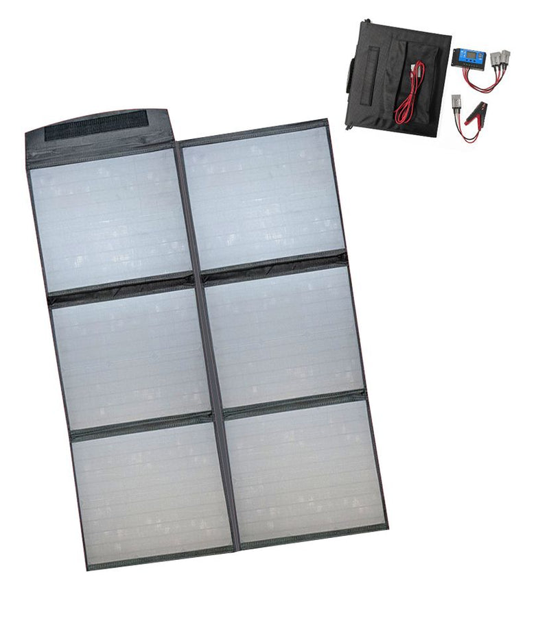 160 Watt 12 Volt Folding Solar Blanket Only 6 KGS with Accessories